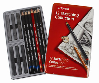 Lapices Derwent Sketching Collection set x 12