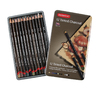 Lapices carbon Derwent Tinted Charcoal x 12
