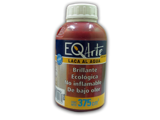 Laca Brillante al Agua EQ Arte color Cedro 375 cc