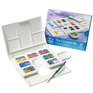 Acuarelas Winsor & Newton Cotman The Compact Set x 14