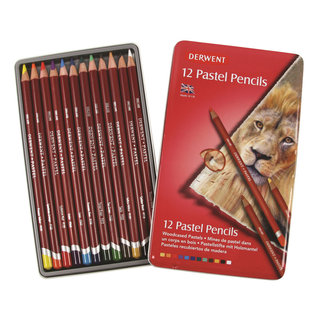 Derwent Pastel Pencils  x 12