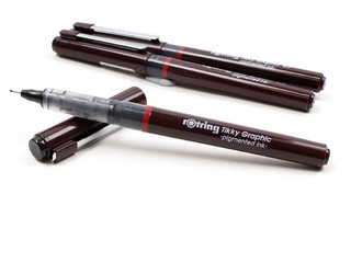 Estilografo descartable Rotring Tikky Graphic 0.7mm