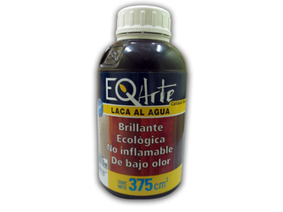 Laca al agua EQ Arte 375 cc Color Wengue