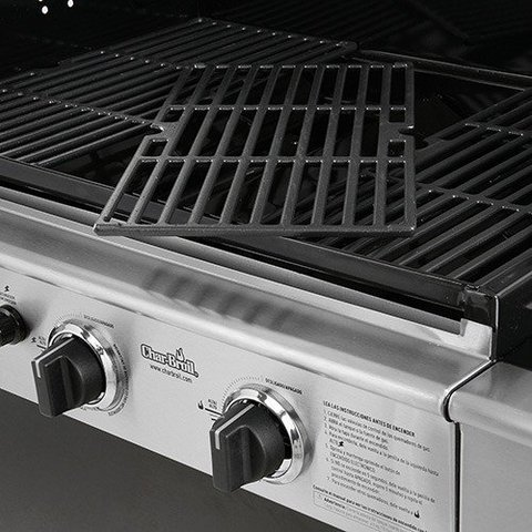 Churrasqueira Advantage Inox - 3B -CHAR BROIL - Amantes de Churrasco
