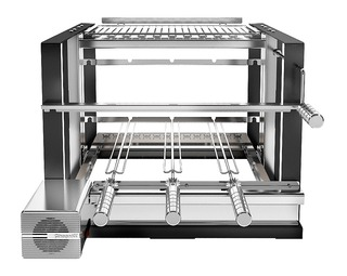Elevgrill 584 SC + Painel com motor - Giragrill