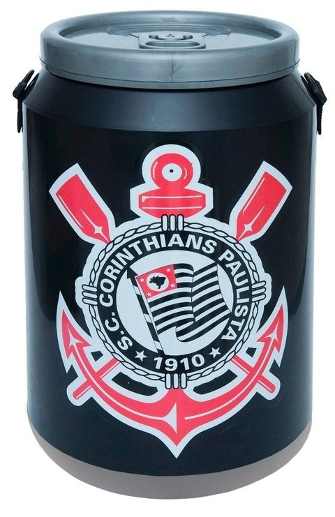 Cooler  do Corinthians - 24 latas - Doctor Cooler - comprar online