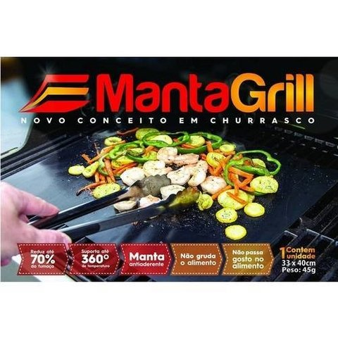 Kit Manta Grill + Pegador na internet