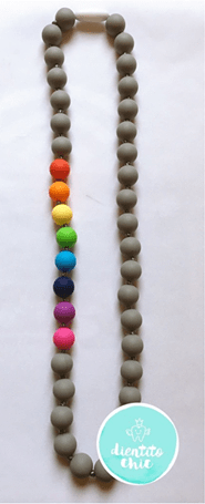 Collar de lactancia Rainbow