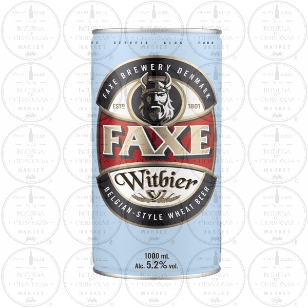 Cerveza Faxe Witbier