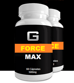 G Max Force- 60 capsulas - Compre 5 Leve 8