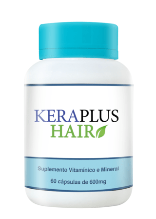 KeraPlus Hair 60 caps 600 mg (2 potes)