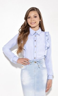 Camisa Jeans Teen