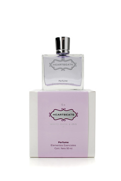 Perfume Heartbeats x 50 ml.