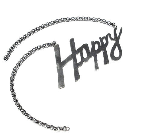 Happy Necklace - by Marcelo Toledo