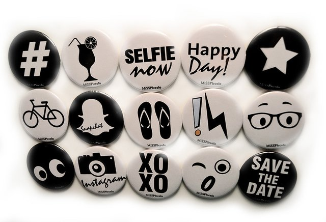 Image of Happy Day! Badges for Parties