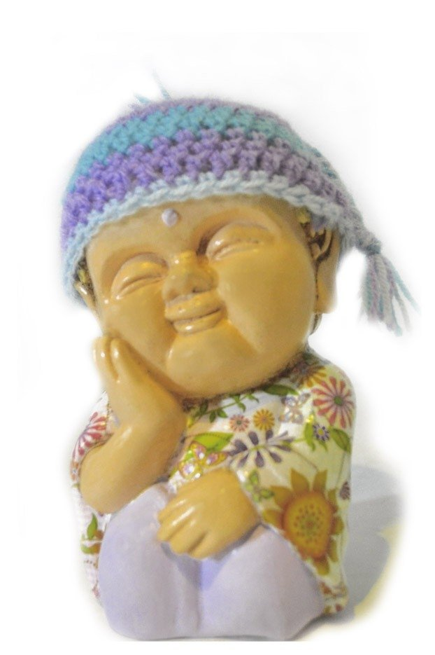 Image of Knit Hat Budha