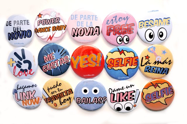 Yes! Badges for wedding - buy online