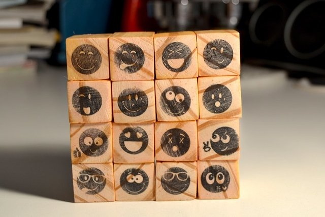 Emoticons  Small Stamps Set - MissPiccolo