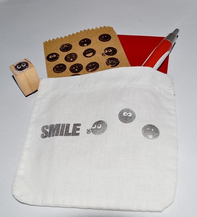Emoticons  Small Stamps Set