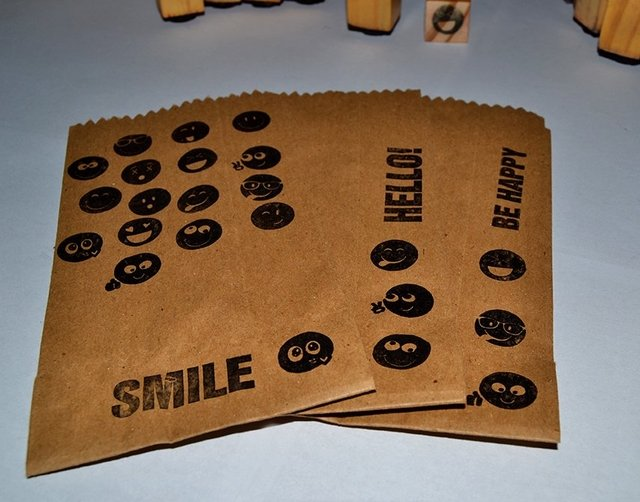 Emoticons  Small Stamps Set - buy online