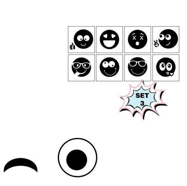 Image of Emoticons Big Set