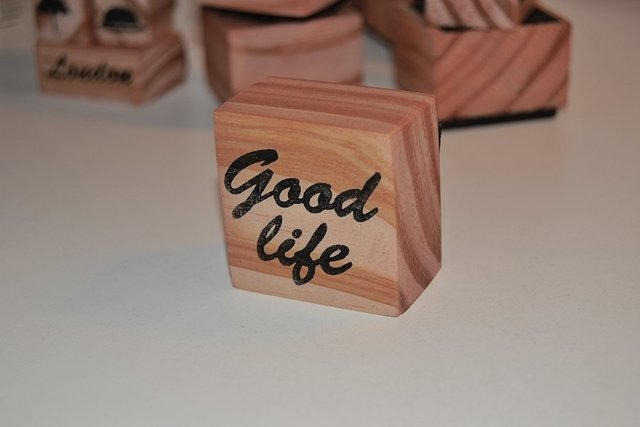 Good Life Stamp - buy online