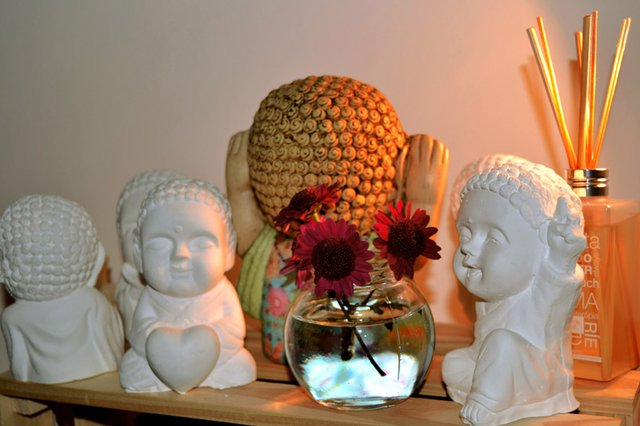 Lucky Buddha on internet