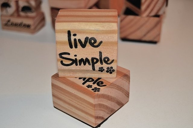 Live Simple Stamp - buy online