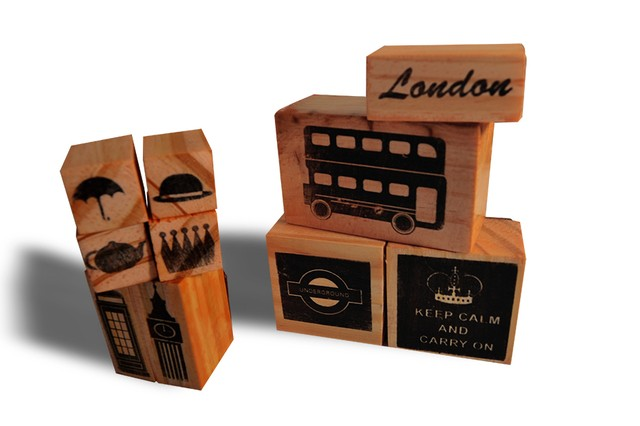 London Stamps Set