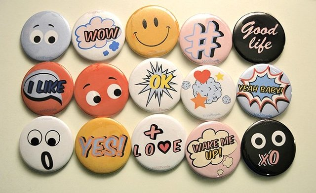 Badges for Parties on internet