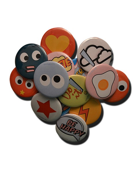Super Day! Badges for Parties - buy online