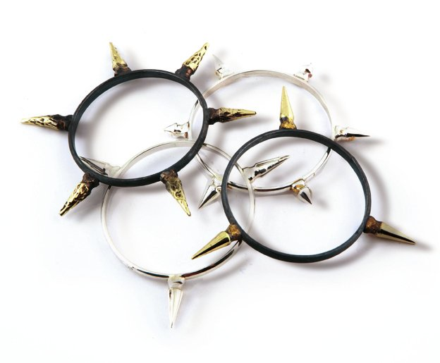 Spike Bracelets by Marcelo Toledo