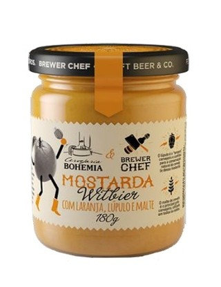 Mostarda Brewer Chef Witbier 180g