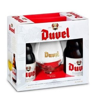 Kit Duvel 330 Ml  (2 Garrafas + 1 Copo)