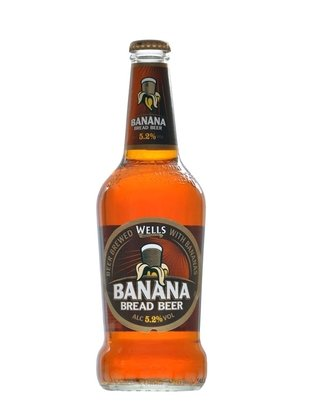 Cerveja Wells Banana Bread 500ml