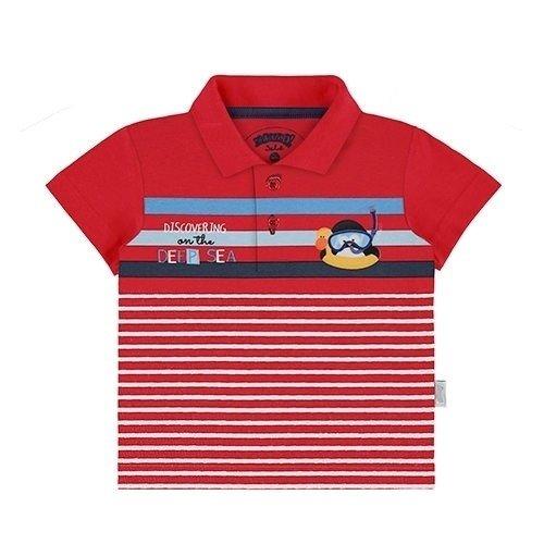 101f78177 Camiseta Polo Bebê Menino Alakazoo - Ref 44730- Vermelho ...