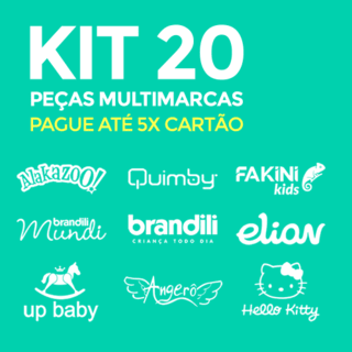 Kit Infantil Multimarcas