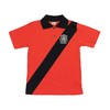 Camiseta Polo Infantil Recorte e Aplique Bordado - Cod. 4846