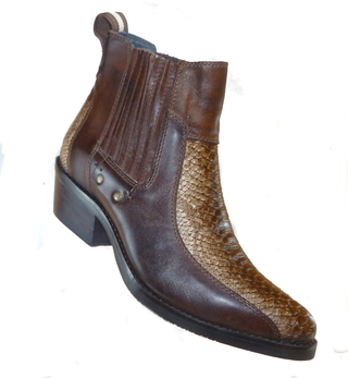 BOTA CAUTRY D'MILTON 12.2846 CAMEL LATEGO CASTANHO