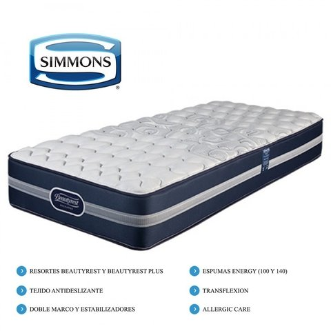 COLCHON SIMMONS BEAUTYREST SMART ELEGANCE