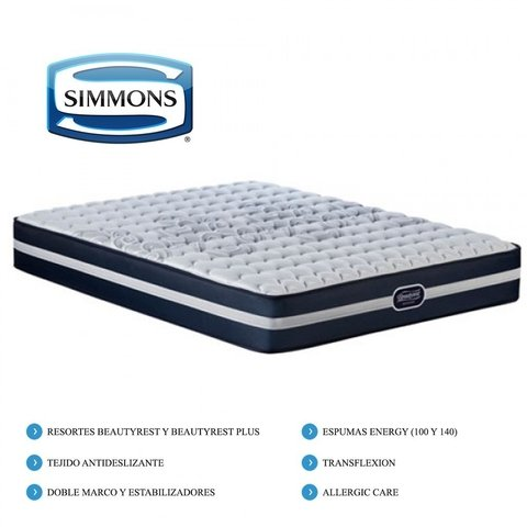 Colchon Beautyrest Recharge Classic  SIMMONS KING