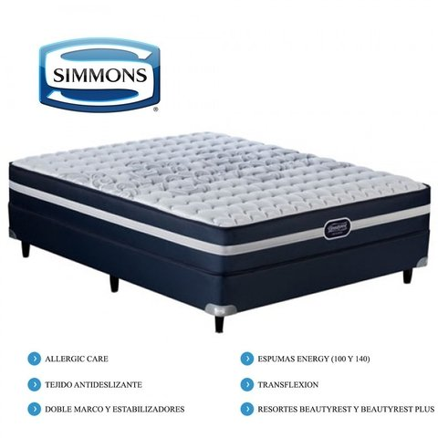 Colchon Beautyrest Recharge Classic  SIMMONS KING - comprar online