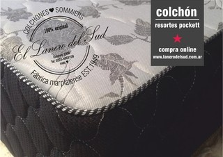 COLCHON MATELASSE RESORTES BICONICOS KING
