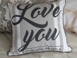 Almohadon Love You