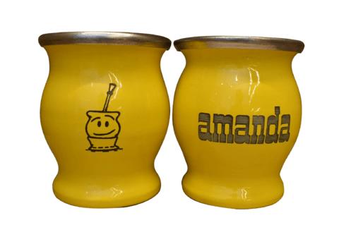 Mate Metal Amanda con Severino