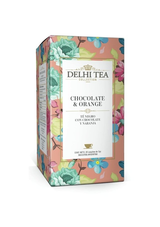 DELHI TEA COLLECTION - caja x 20 saq - en internet