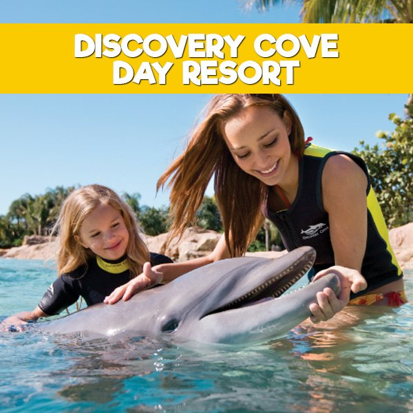 Ingressos Discovery Cove - Day Resort Package 2018 (COM SEA WORLD + AQUATICA) na internet