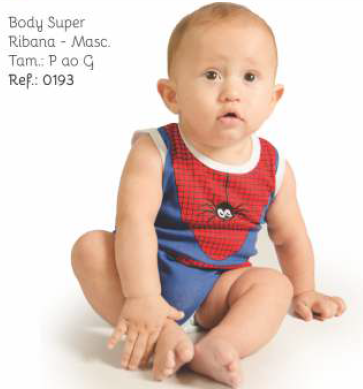 BODY BEBE P/G REF 19327 ESTAMP SUPER - PEGA LEGAL COD 15053