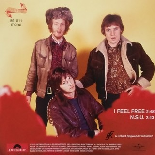 Cream - I Feel Free / NSU [Compacto] na internet