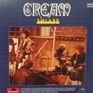 Cream - Sunshine of Your Love / SWLABR [Compacto] na internet